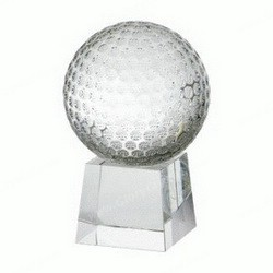 golf optic crystal awards trophies