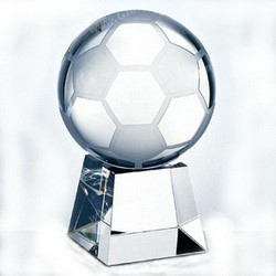 soccer optic crystal trophies