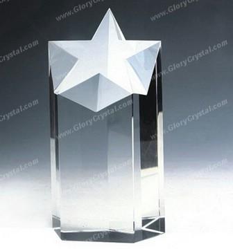 Star Crystal Plaque 117